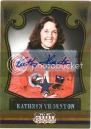 2011 Panini Americana Kathryn Thornton Auto Relic