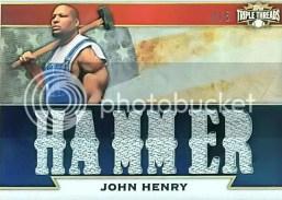 2011 Topps Triple Threads John Henry Hammer