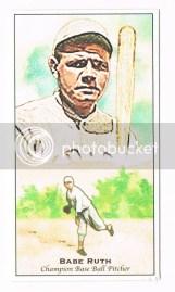 2011 Topps Update Baseball Babe Ruth Kimball Champions