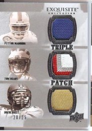 2010 Exquisite Triple Patch Manning/Brees/Brady