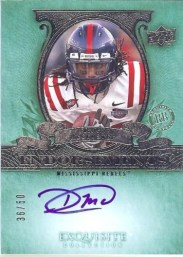 2010 Exquisite Dexter McCluster Endorsements Autograph