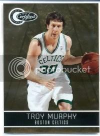 2010-11 Panini Certified Troy Murphy Gold /25