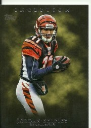 2011 Topps Inception Jordan Shipley Base Card