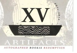11-12 UD Artifact Autograph Rookie Redemption XV