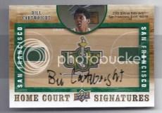 2011-12 Sp Authentic Bill Cartwright Autograph Home Court