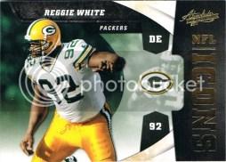 2011 Panini Absolute Reggie White Icons Insert