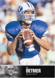 2011 Upper Deck College Legends Ty Detmer