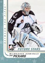 2010/11 ITG Between The Pipes Chet Pickard Future Stars Base Card
