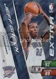 Jeff Green Extra NBA 2 Adrenalyn Card