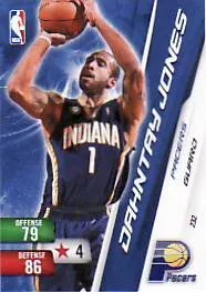 Dahntay Jones Adrenalyn Base Card