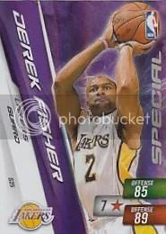 Derek Fisher Special Adrenalyn NBA 2 Code