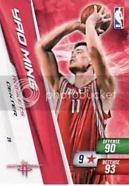 2010-11 Yao Ming Free Adrenalyn Code