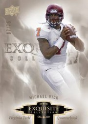 2010 Exquisite Michael Vick