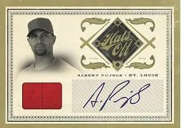 2011 Playoff Prime Cuts Albert Pujols Hats Off Auto