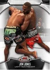 2012 Topps Finest UFC Jon Jones Base Card