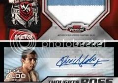 2012 Topps Finest UFC Dana White Jose Aldo Autograph