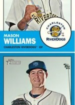 2012 Topps Heritage Minors Mason Williams Base