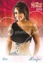 2012 Topps WWE Diva Layla