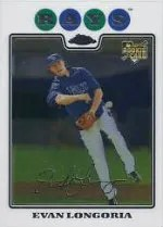 2008 Topps Chrome Evan Longoria RC Card #193