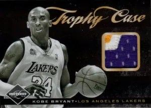 2011-12 Panini Limited Trophy Case Kobe Bryant Prime Jersey Card