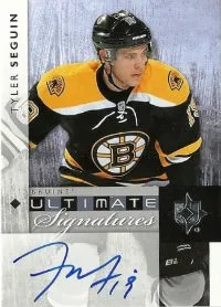 2011-12 Upper Deck Ultimate Collection Tyler Seguin Autograph