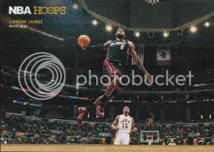 2012-13 Panini NBA Hoops Courtside LeBron James Insert Card