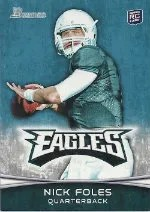 2012 Bowman Nick Foles SP Variation RC