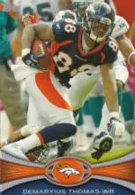 2012 Demaryius Thomas Base Card