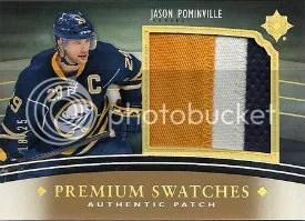 2012 Jason Pomiville Premium Swatches Jersey