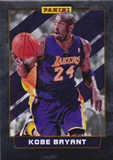 2012 Panini National Wrapper Redemption Kobe Bryant Base Card