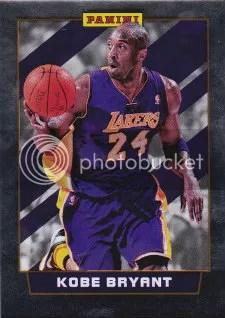 2012 Panini National Wrapper Redemption Kobe Bryant Base Card