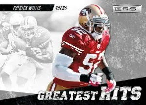 2012 Panini Rookies and Stars Patrick Willis Greatest Hits Insert Card