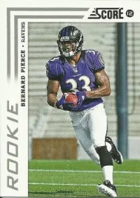 2012 Score Bernard Pierce RC #306