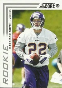 2012 Score Harrison Smith RC Card