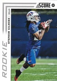 2012 Stephon Gilmore Score Photo Variation RC Card