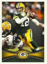 2012 Topps Aaron Rodgers SP Photo Variation Card