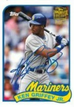 2012 Topps Archives Fan Favorites Autograph Ken Griffey Jr. Card