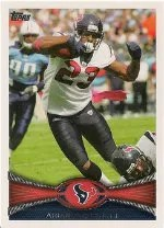 2012 Topps Arian Foster Base Card #360