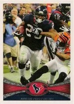 2012 Topps Arian Foster SP Photo Variation Base Card #360