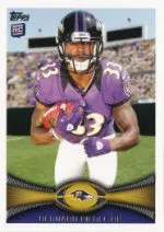 2012 Topps Bernard Pierce SP Photo Variation RC