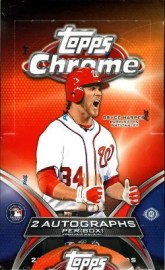 2012 Topps Chrome Hobby Box