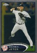 2012 Topps Chrome Derek Jeter Base Card #84