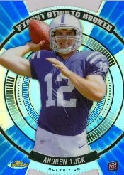2012 Topps Finest Atomic Rookie Andrew Luck FAR-AL