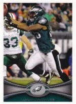 2012 Topps LeSean McCoy SP Photo Variation Card