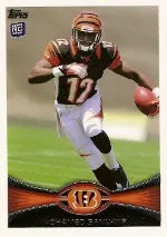 2012 Topps Mohamed Sanu RC Card #151