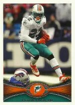 2012 Topps Reggie Bush SP Photo Variation Card #265