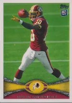 2012 Topps Robert Griffin III RC Card