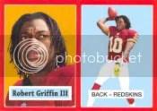 2012 Topps Robert Griffin III Target Exclusive Red Border
