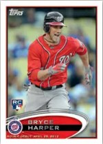 2012 Topps Update Series Bryce Harper RC Card
