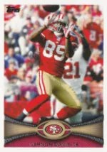 2012 Topps Vernon Davis Base Card #164